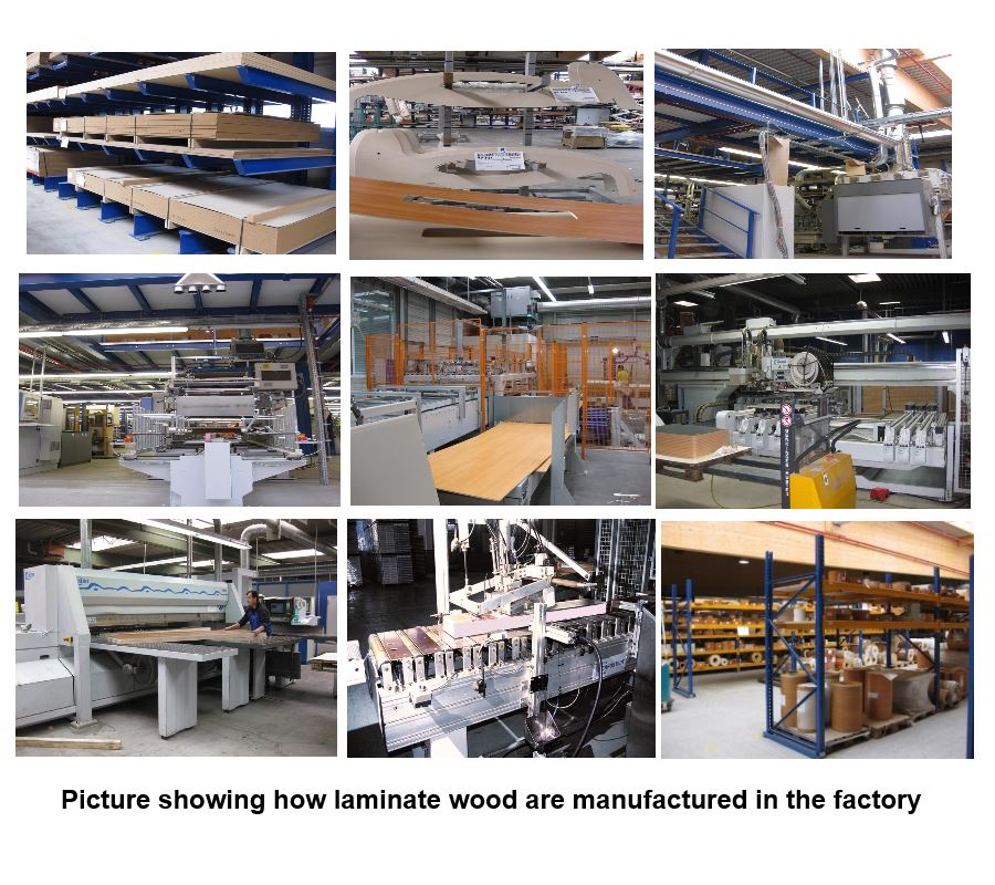 Manufacturing Process For Laminate Wood Floor S